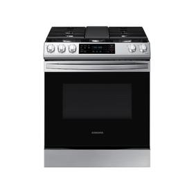 6.0 cu. ft. Smart Slide-in Gas Range with Convection in Stainless Steel