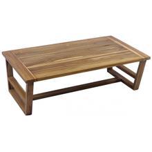 Modern Teak Coffee Table