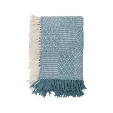 Hand Woven Eve Throw Blue