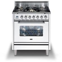 30 Inch True White Liquid Propane Freestanding Range