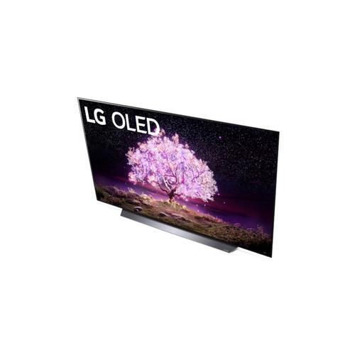 LG - LG C1 65 inch Class 4K Smart OLED TV w/AI ThinQ® (65.4'' Diag)