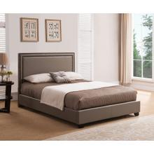 BAN66TT Banff Platform Bed - King, Taupe
