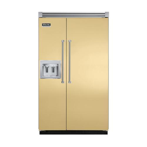 "Viking - Golden Mist 48"" Quiet Cool™ Side-by-Side with dispenser - VISB Tru-Flush™ (48"" wide)"