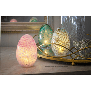Egg Orbs with Light Decor (was EA18735) (4 pc. ppk.)