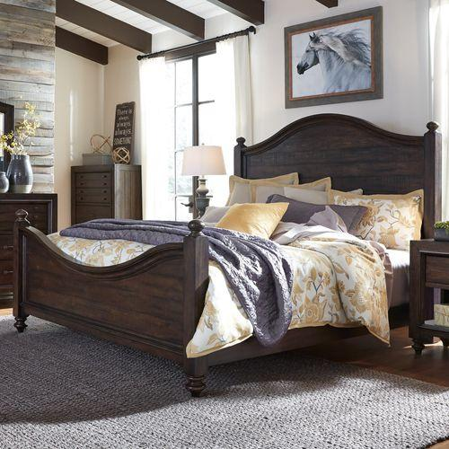 Liberty Furniture Industries - King California Poster Bed