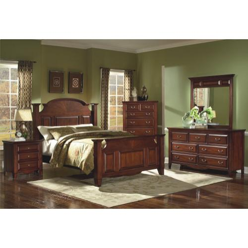 "DRAYTON HALL 5'0"" Q HEADBOARD- BORDEAUX"