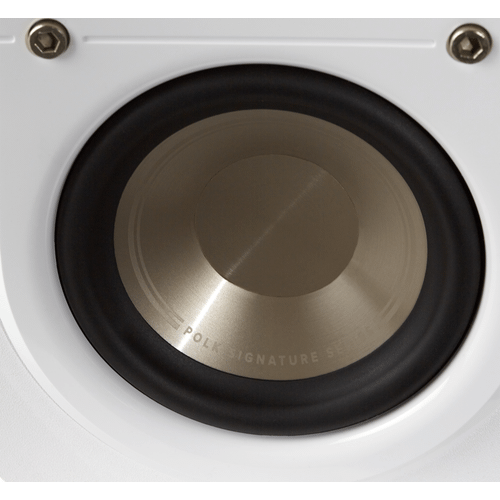 American HiFi Home Theater Compact Satellite Surround Speaker in Winter White