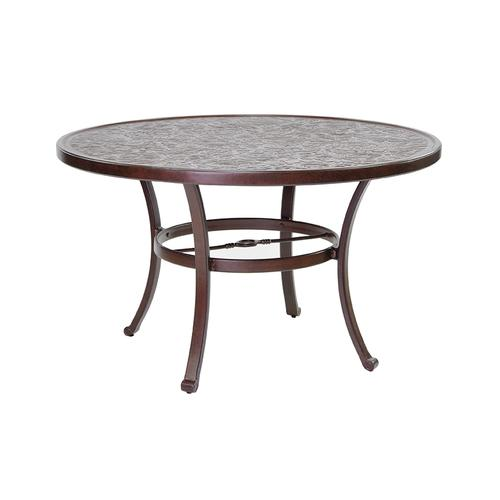 """Castelle - 49"""" Vintage Round Dining Table"""