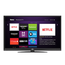28'' Back Lit LED Roku TV DVD COMBO