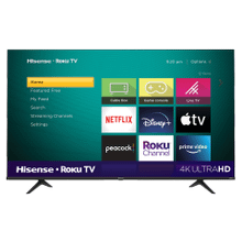 "65"" Class - R6095 Series - 4K UHD Hisense Roku TV with HDR (2020) SUPPORT"