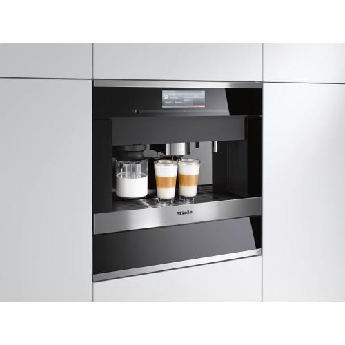 MB-CVA 6000 - Milk container made of glass Latte Macchiato and Cappuccino whenever you want!