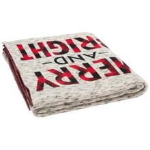 Merry and Bright Throw - Grey / Red