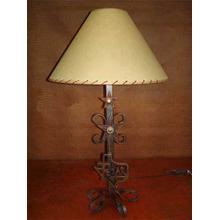 See Details - Texas Map Metal Lamp