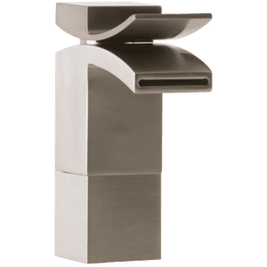 Quarto Medium Vessel Lav Faucet Front Flow Brushed Nickel Product Image
