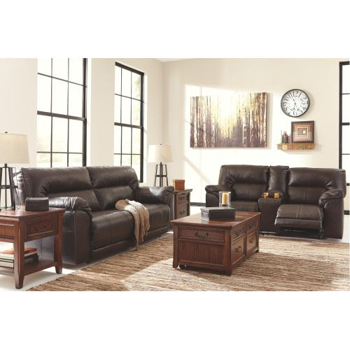 Barrettsville Power Reclining Loveseat With Console