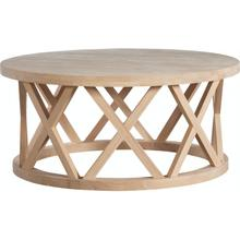 View Product - Ceylon Round Coffee Table