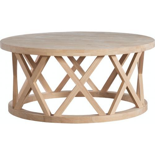 John Thomas Furniture - Ceylon Round Coffee Table