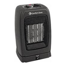 CZ448 Ceramic Electric Portable Fan-Forced Heater, Black
