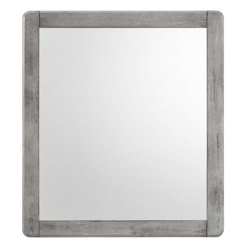 Georgia Wood Mirror in Gray