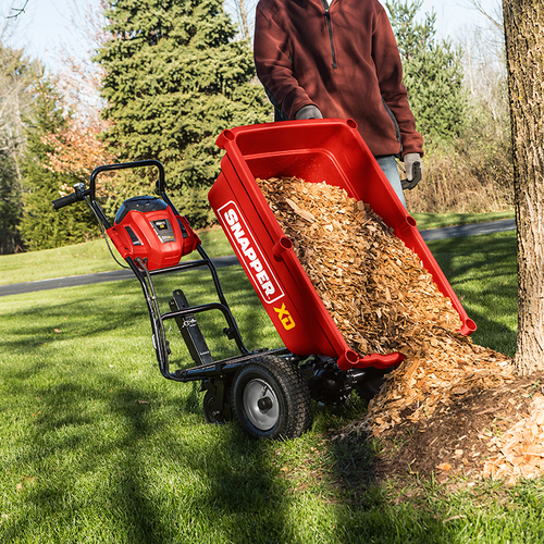 82-Volt Max* Lithium-Ion Cordless Self-Propelled Utility Cart  Snapper