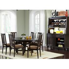 View Product - Oval Pedestal Table
