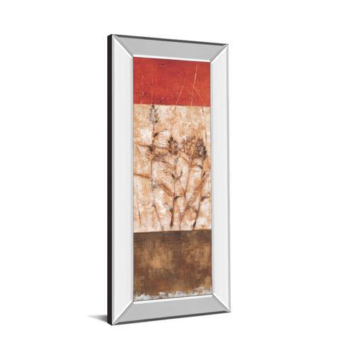 """""""Fresco I"""" By Loretta Linza Mirror Framed Print Wall Art"""