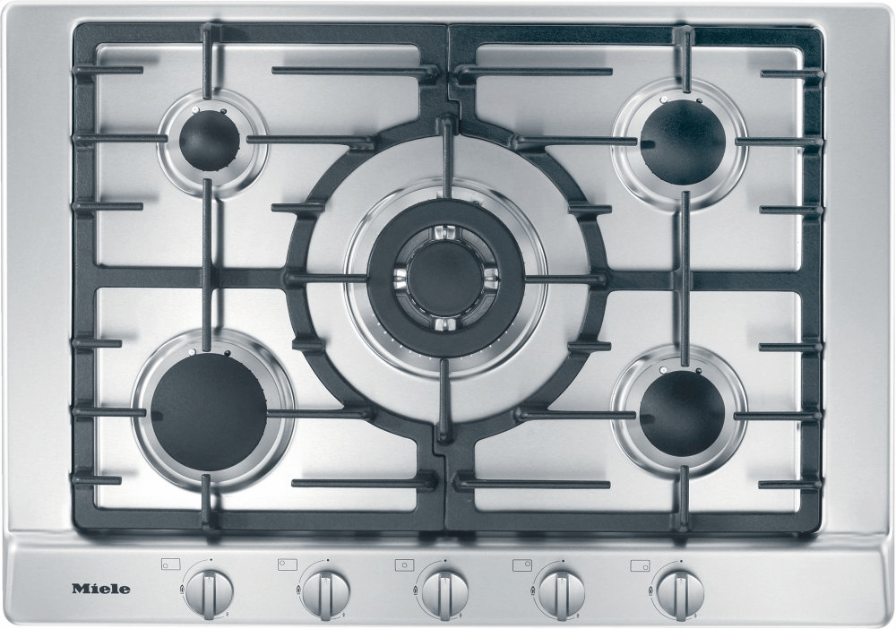 MieleKm 2032 G - Gas Cooktop With 5 Burners For Particularly Versatile Cooking Convenience.