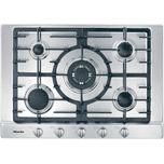 MieleMiele KM 2032 G - Gas cooktop with 5 burners for particularly versatile cooking convenience.