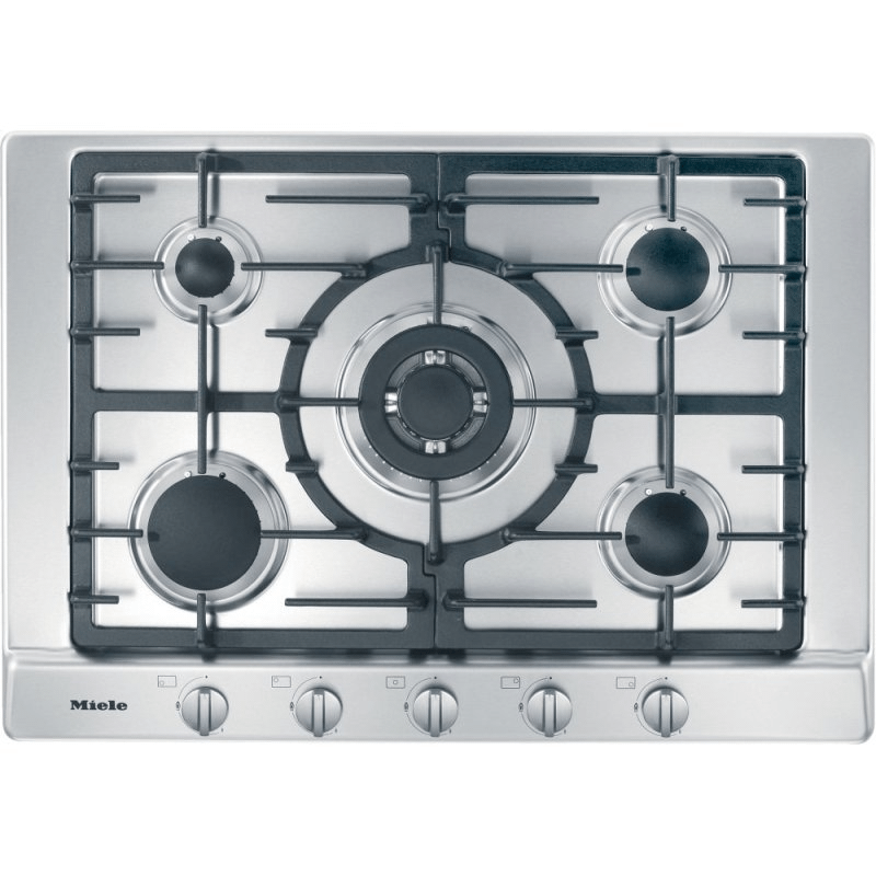 KM 2032 G - Gas cooktop with 5 burners for particularly versatile cooking convenience.