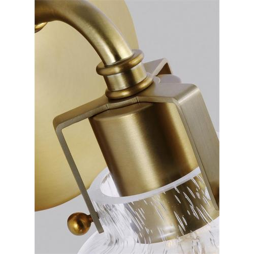Clara 1 - Light Sconce Burnished Brass