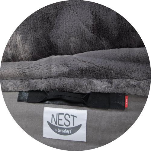 Full Cover - NEST - Charcoal