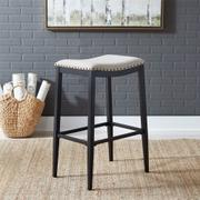 Backless Uph Barstool- Black Product Image