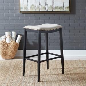 Liberty Furniture Industries - Backless Uph Barstool- Black