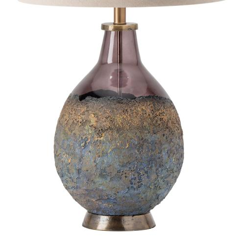 Kai Molten Earth Texture Table Lamp with Special Finial