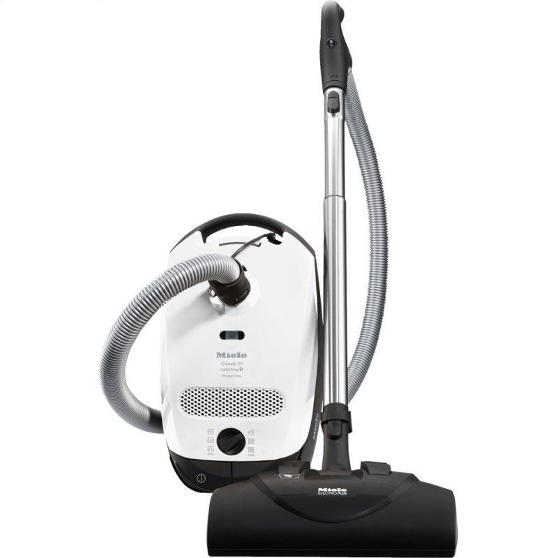 Classic C1 Cat & Dog PowerLine - SBBN0 - canister vacuum cleaners with electrobrush for thorough cleaning of heavy-duty carpeting.
