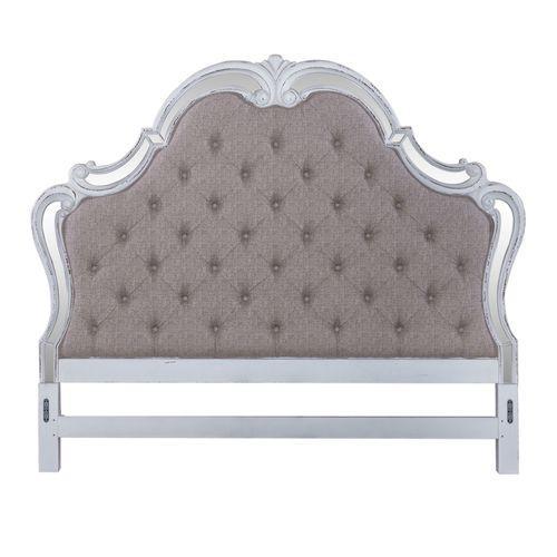 Liberty Furniture Industries - Queen Uph Mirror Headboard