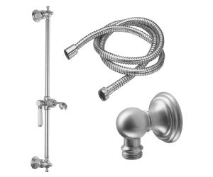 Slide Bar Handshower Kit - Porcelain Lever Handle With Line Base Product Image