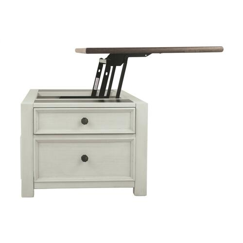 Bolanburg Lift Top Cocktail Table Two-tone