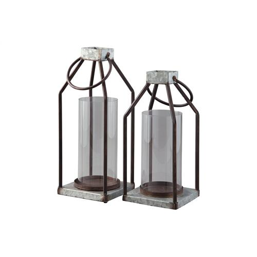 Lantern Set Gray/Black