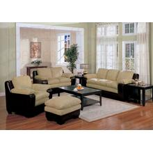 "LOVESEAT/DARK BROWN 59""X36""X36""H"