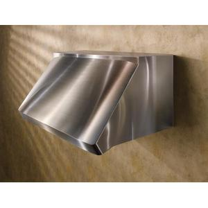 "Centro - 54"" Stainless Steel Pro-Style Range Hood with 300 to 1650 Max CFM internal/external blower options"