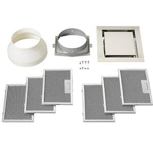 BestNon-duct recirculation kit for use with the BEST® CC34 Cirrus ceiling hood