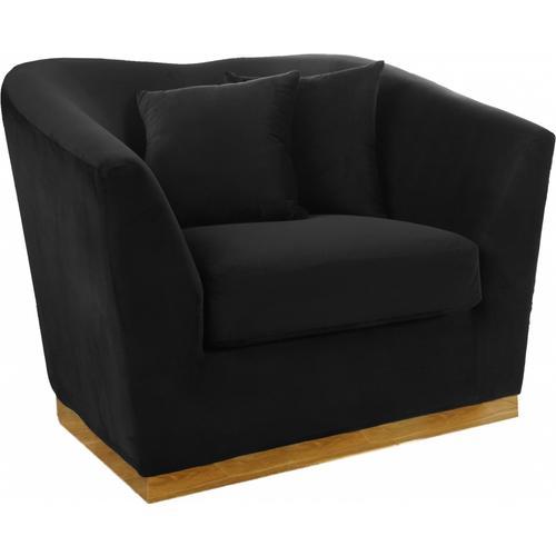 """Arabella Velvet Chair - 43.5"""" W x 35"""" D x 32.5"""" H"""