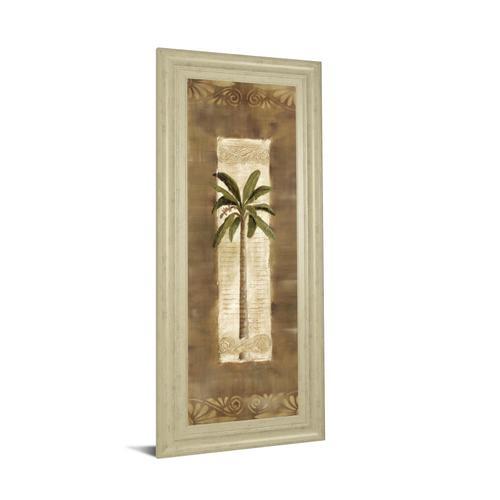 """""""Scroll Palm I"""" By Carol Robinson Framed Print Wall Art"""