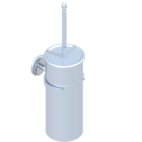 Wall Mounted Wc Brush With Cover and Metal Holder