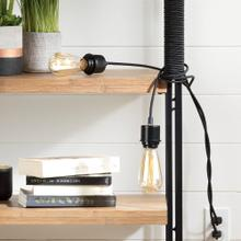2 cords for wall outlet - Black