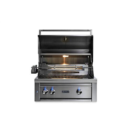 "30"" Lynx Professional All Trident Built In Grill Rotisserie, NG"