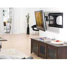 """View Product - Black Full-Motion Wall Mount for 37"""" - 65"""" flat-panel TVs - extends 28"""" / 71.12 cm"""