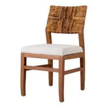 Lyon Abaca Dining Chair, Natural