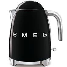 Smeg 50s Retro Style Design Aesthetic Electric Kettle, Black